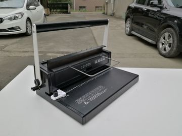 Small Wire Binding Machine with 12 sheets max punching capacity